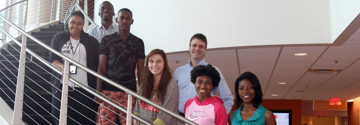 Students in the STEPS program
