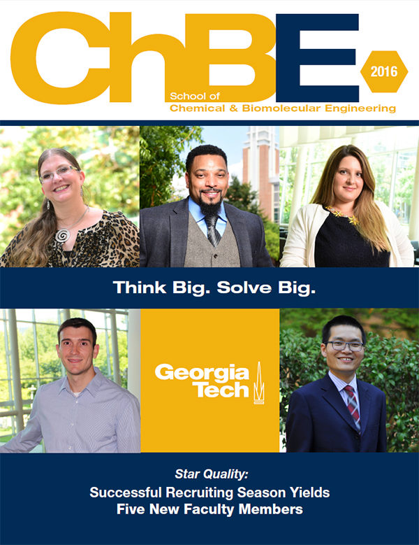 ChBE Magazine Cover
