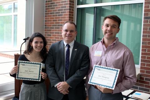 Dr. David Sholl and Student Ambassadors' Co-Presidents
