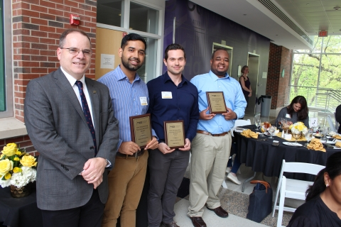 Dr. David Sholl and Shell Outstanding Teaching Assistant Award Winners